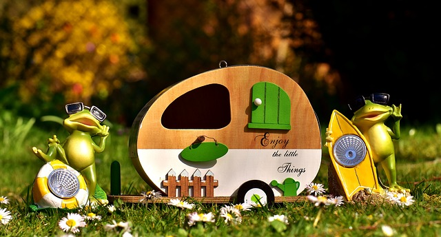 camping drole