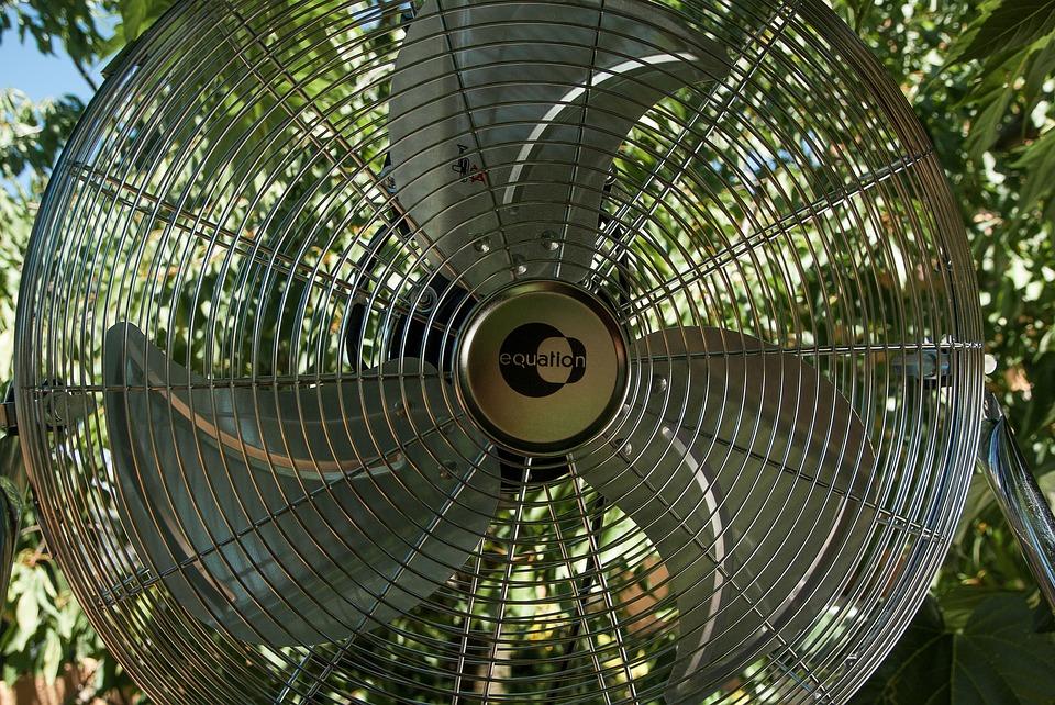 Un ventilateur